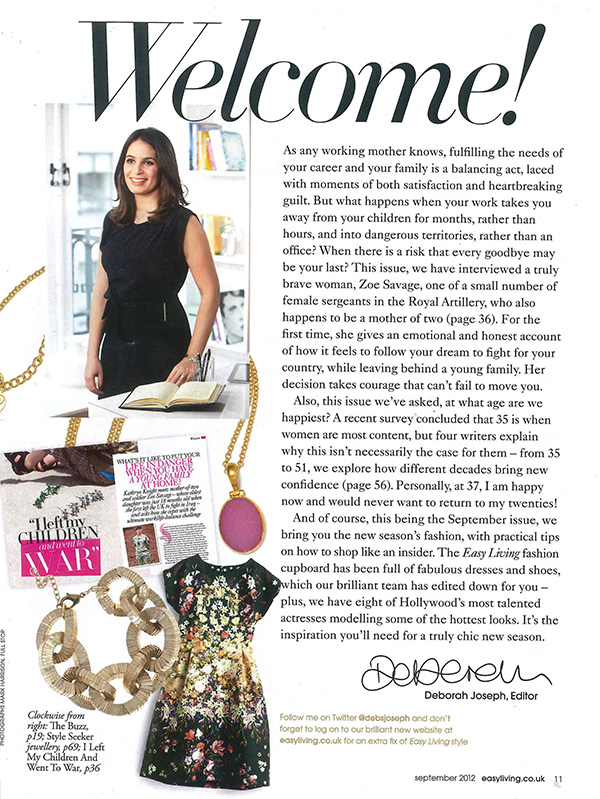 Press And Magazine Articles About Sushilla Jewellery