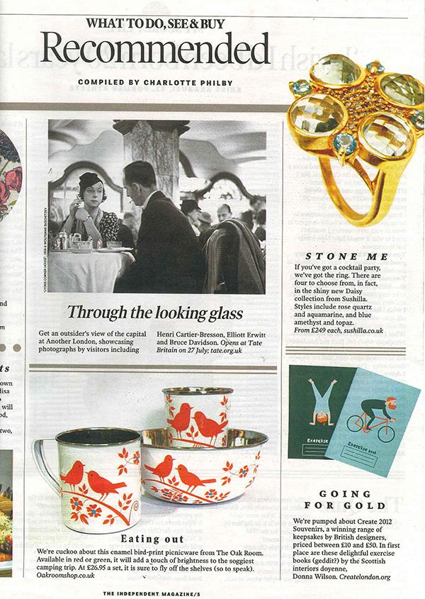 Independent Magazine 23-06-12 coverage