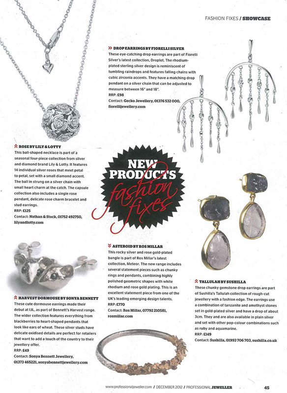Professional Jeweller December Coverage