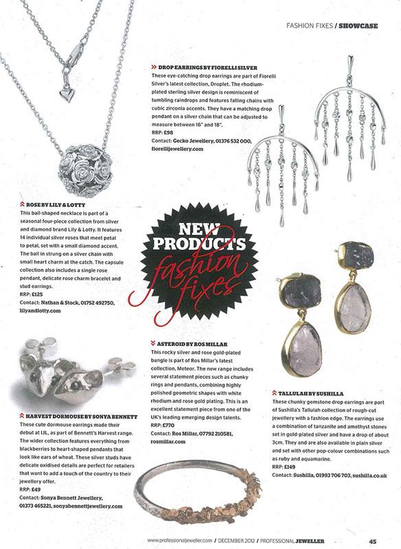 Professional Jeweller December Coverage