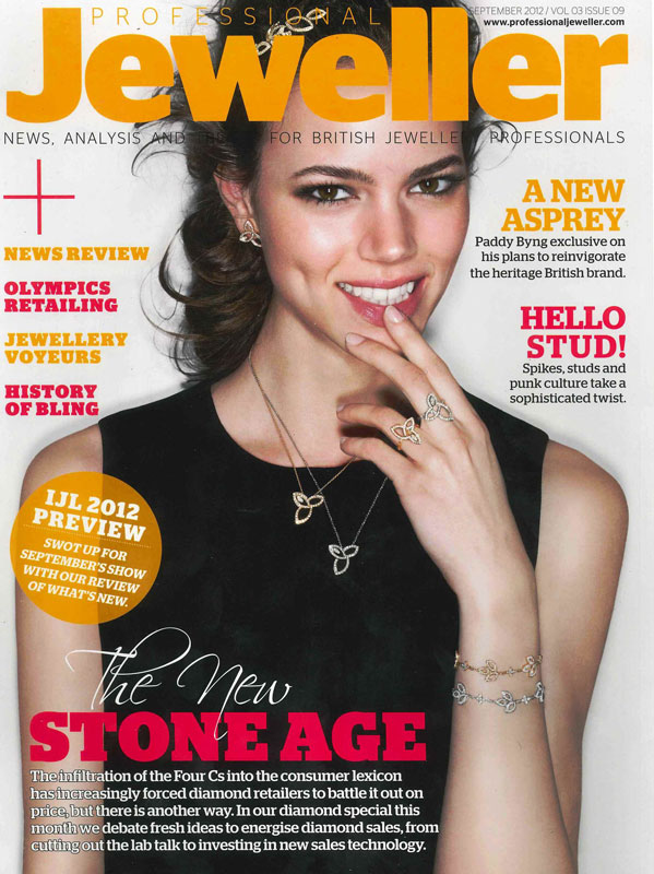 Professional Jeweller September 2012 Cover