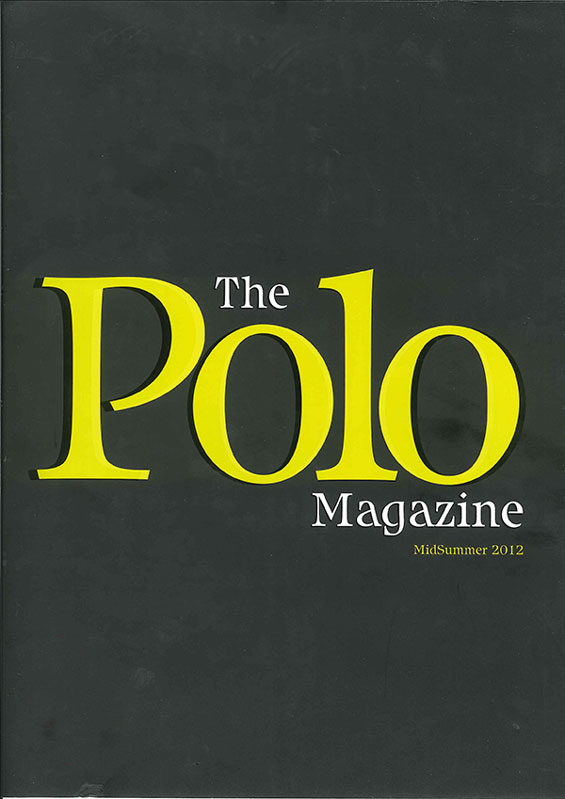 The Polo Magazine SS12 Cover