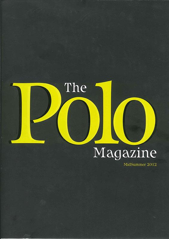 The Polo Magazine SS12 Cover