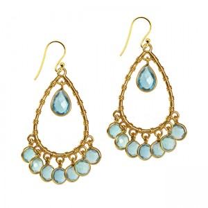 Clara Earrings Apatite