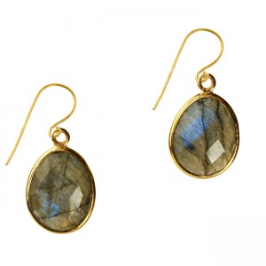 Esme Earrings Labradorite