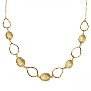 Esme Necklace Citrine