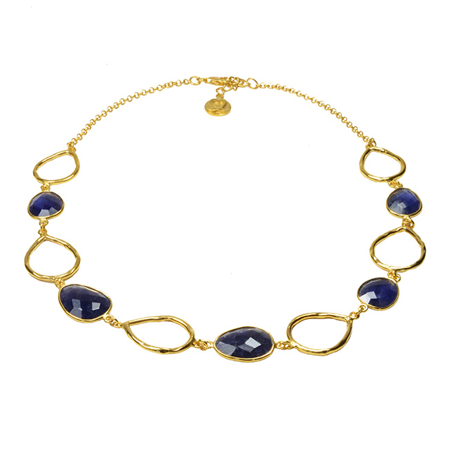 Esme Necklace Iolite