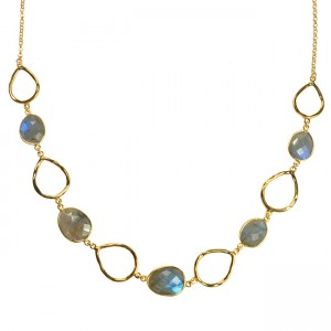 Esme Necklace Labradorite