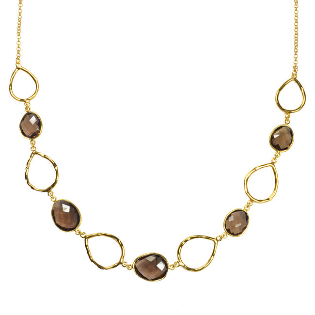 Esme Necklace Smoky Quartz
