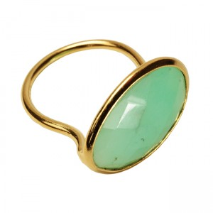 Esme Ring Chrysoprase