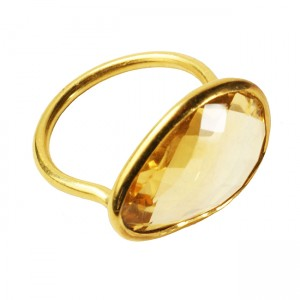 Esme Ring Citrine
