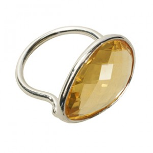 Esme Ring Citrine Silver