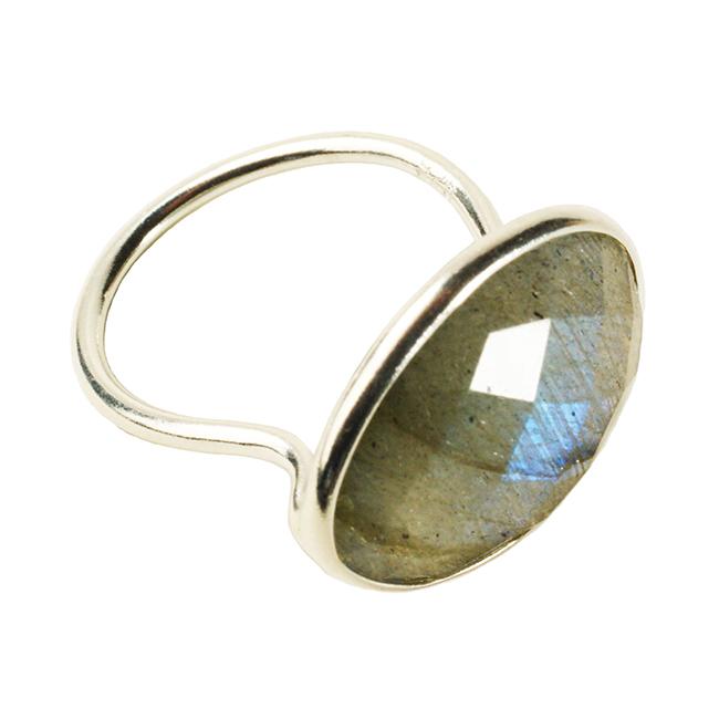 Esme Ring Labradorite Silver
