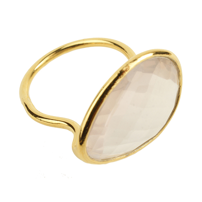 Esme Ring Rose Quartz