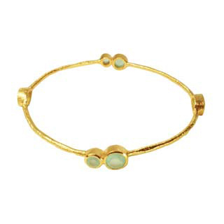 Julep Bangle Aqua Chalcedony