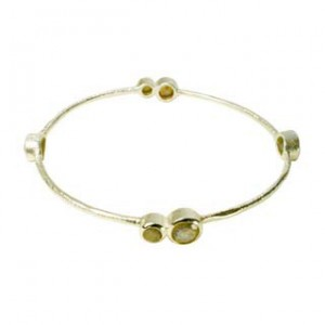 Julep Bangle Labradorite Silver