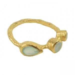 Julep Ring Aqua Chalcedony
