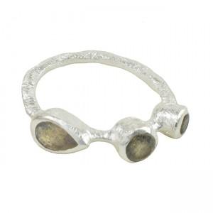 Julep Ring Labradorite Silver