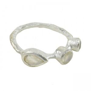 Julep Ring Moonstone Silver