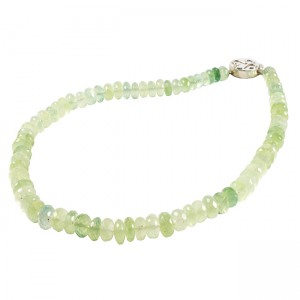 Sofia Necklace Prehnite