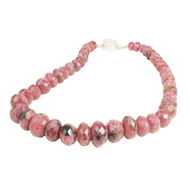Sofia Rhodochrosite Necklace