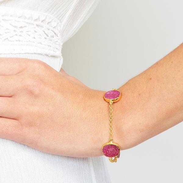 Tallulah Bracelet Ruby