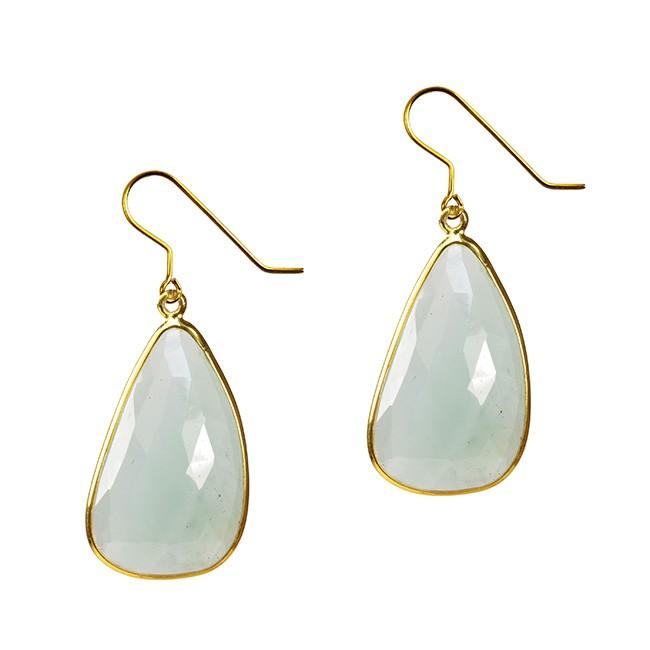 Talitha Earrings Aquamarine