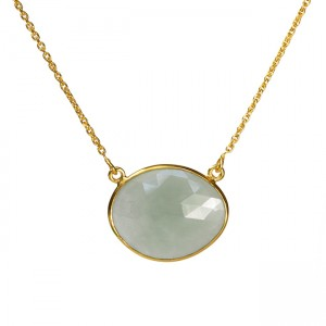 Talitha Necklace Aquamarine