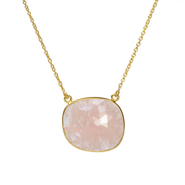 Talitha Necklace Morganite