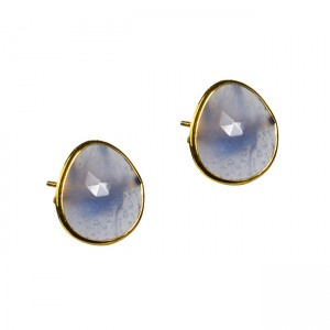 Talitha Stud Earrings Iolite