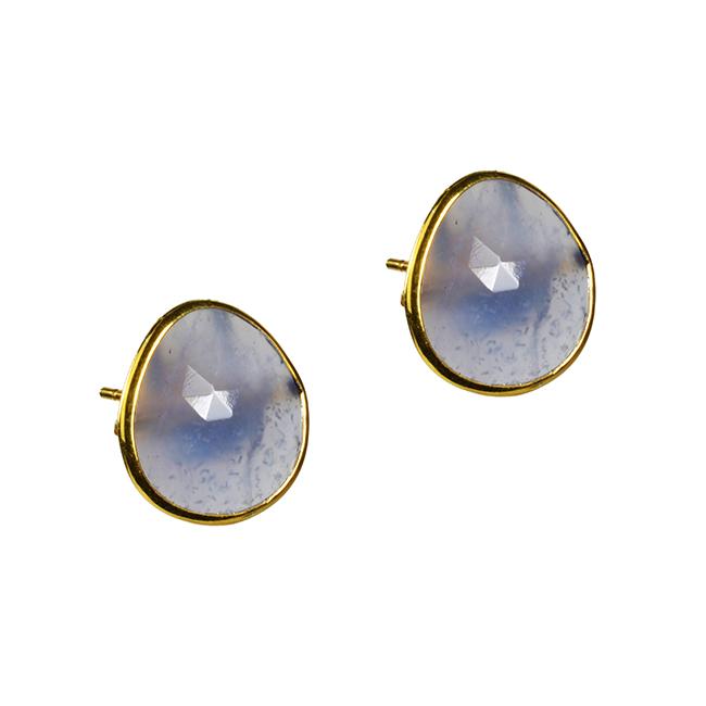 Talitha Stud Earrings Iolite