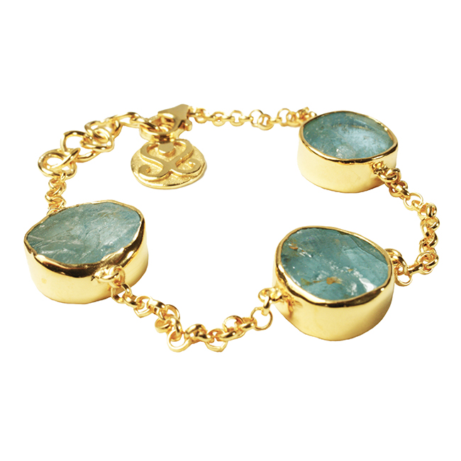 Tallulah Bracelet Aquamarine