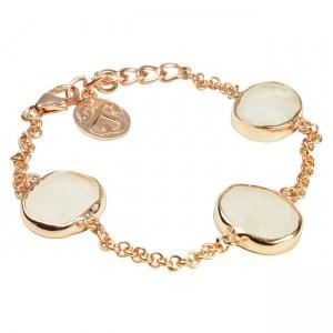 Tallulah Bracelet Moonstone Rose Gold