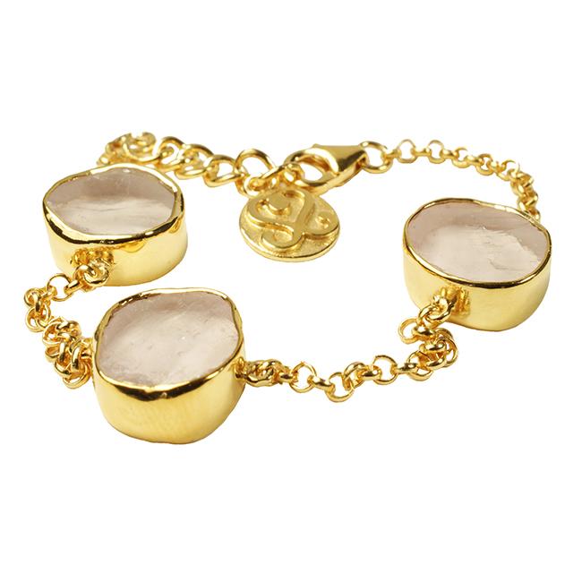Tallulah Bracelet Rose Quartz