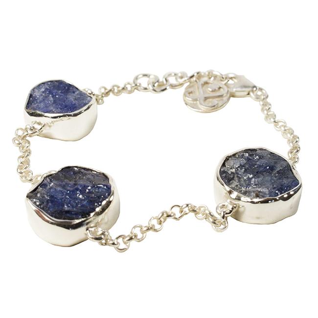 Tallulah Bracelet Silver Tanzanite