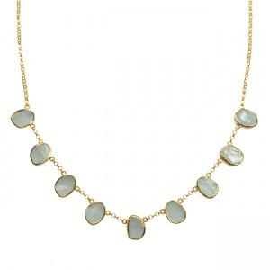 Tallulah Collar Aquamarine