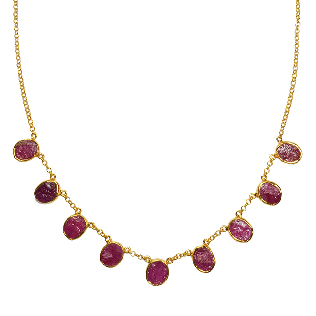 Tallulah Collar Ruby