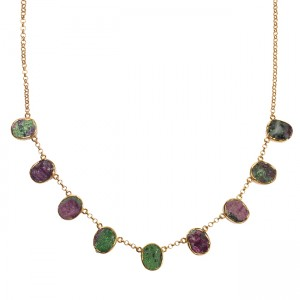 Tallulah Collar Ruby Zoisite