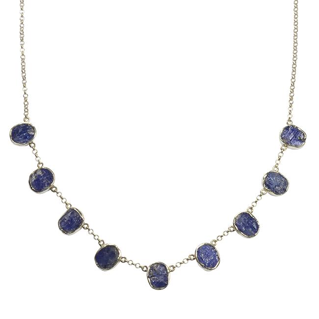 Tallulah Collar Silver Tanzanite