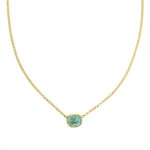 Tallulah Drop Necklace Apatite