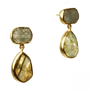 Tallulah Earrings Labradorite