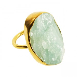 Tallulah Cocktail Ring Aquamarine