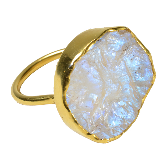 Tallulah Cocktail Ring Moonstone