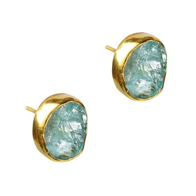 Tallulah Stud Earrings Apatite