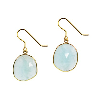 Talitha Earrings Aquamarine