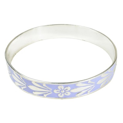 Joy Enamel Bangle Mauve