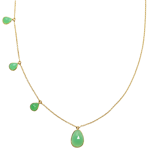 Talitha Necklace Chrysoprase