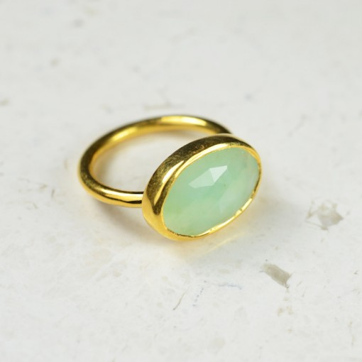 Talitha Ring Chrysoprase