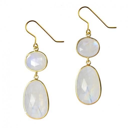 Talitha Earrings Moonstone