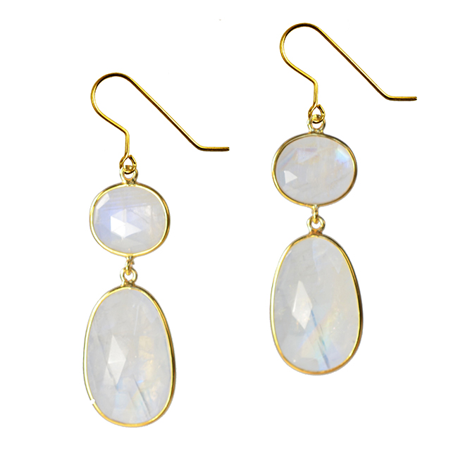 Talitha Earrings Moonstone